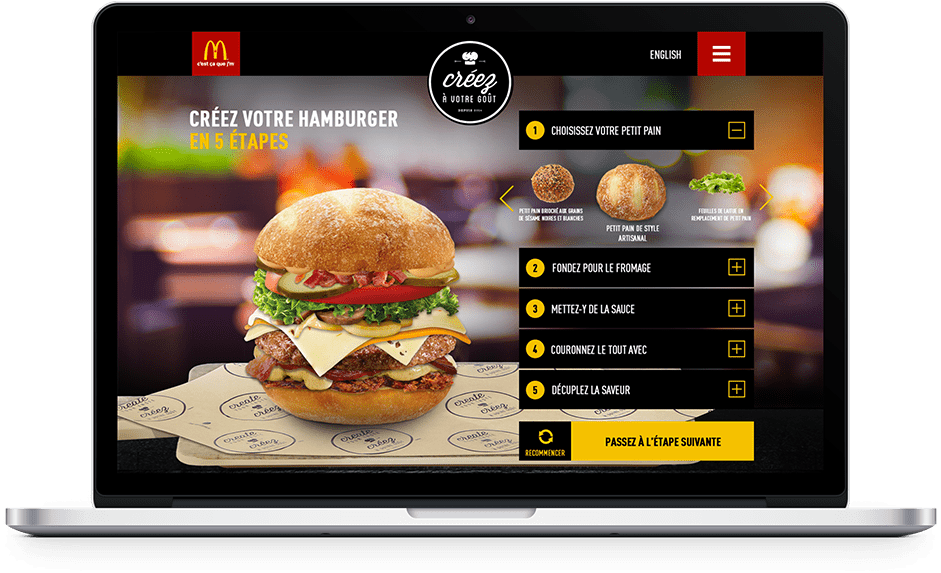 Interface d'application